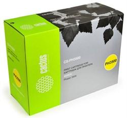 Лазерный картридж Cactus CS-PH3500 (106R01149) черный для принтеров Xerox Phaser 3500, 3500b, 3500dn, 3500n, 3500vn (12000 стр.) - фото 9609