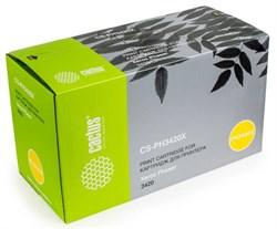 Лазерный картридж Cactus CS-PH3420X (106R01034) черный для принтеров Xerox Phaser 3420, 3425, 3425ps (8000 стр.) - фото 9610