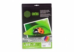 Этикетки Cactus С-30485254 A4 25.4x48.5мм 40шт на листе, 50л. - фото 9618