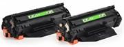 Лазерный картридж Cactus CS-Q2612AD (HP 12A) черный для HP LaserJet 1010, 1012, 1015, 1018, 1020, 1020 Plus, 1022, 1022n, 3015, 3020, 3030, 3050, 3050z, 3052, 3055, M1005 MFP, M1300 MFP, M1319 (2 x 2'000 стр.)