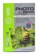 Фотобумага Cactus CS-MA6230500 10x15, 230г/м2, 500л., белый матовое для струйной печати