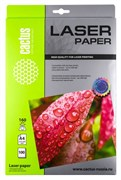 Фотобумага Cactus CS-LPA4160100 A4, 160г/м2, 100л., белый глянцевое для лазерной печати