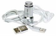 Автомобильное зар./устр. Cactus CS-ACCP33 1A+2.1A универсальное кабель Apple Lightning/microUSB серебристый