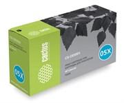 Лазерный картридж Cactus CS-CE505X (HP 05X) черный для принтеров HP LaserJet P2050, P2055, P2055d, P2055dn, P2055x (6500 стр.)