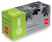 Лазерный картридж Cactus CS-EP22 (1550A003) черный для Canon LBP 22, 22X, 250, 350, 800, 810, 1110, 1110sE, 1120 Laser Shot, 5585, 5585i, P420 (2'500 стр.)