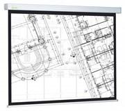 """Экран Cactus Wallscreen CS-PSW-124x221 100"""" 16:9 настенно-потолочный рулонный белый"""