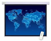 """Экран Cactus Motoscreen CS-PSM-127X127 67"""" 1:1 настенно-потолочный рулонный белый (моторизованный привод)"""