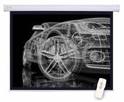 Экран Cactus 150x150см Motoscreen CS-PSM-150x150 1:1 настенно-потолочный рулонный (моторизованный привод).