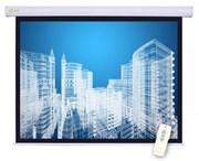 Экран Cactus 152x203см Motoscreen CS-PSM-152x203 4:3 настенно-потолочный рулонный (моторизованный привод).