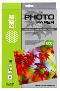 Фотобумага Cactus CS-GA418050E A4, 180г/м2, 50л., белый глянцевое для струйной печати