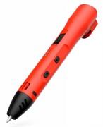 3D Ручка Cactus CS-3D-LTP2-BK PLA LCD красная