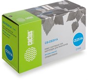 Лазерный картридж Cactus CS-CE251AV (HP 504A) голубой для HP Color LaserJet CM3530, CM3530fs, CM3530fs MFP, CP3520, CP3525, CP3525dn (7'000 стр.)