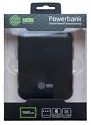 Мобильный аккумулятор Cactus CS-PBHTST-10400 Li-Ion 10400mAh 2.4A+1A черный 2xUSB