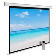 """Экран Cactus MotoExpert CS-PSME-300x225-WT 150"""" 4:3 настенно-потолочный рулонный белый (моторизованный привод)."""