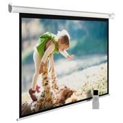 """Экран Cactus MotoExpert CS-PSME-240x150-WT 110"""" 16:10 настенно-потолочный рулонный белый (моторизованный привод)."""