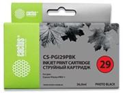 Струйный картридж Cactus CS-PGI29PBK (4869B001) фото черный для Canon Pixma PRO-1 (1'300стр.)