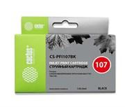 Струйный картридж Cactus CS-PFI107BK (6705B001) черный для Canon ImagePrograf iPF670, iPF670 MFP L24, iPF680, iPF681, iPF685, iPF686, iPF770, iPF770 MFP L36, iPF780, iPF780 MFP M40, iPF781, iPF785, iPF785 MFP M40, iPF786 (130 мл.)