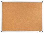 Демонстрационная доска Cactus CS-CBD-90X120 пробковая, алюминиевая рама (90x120 см.)