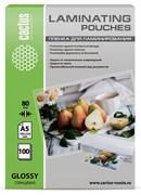 Пленка для ламинирования Cactus 80мкм A5 (100шт) глянцевая 154x216мм CS-LPGA580100
