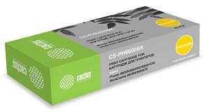 Лазерный картридж Cactus CS-PH6600BK (106R02236) черный увеличенной емкости для Xerox Phaser 6600, 6600dn; WorkCentre 6605, 6605n (8'000 стр.)