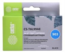 Cтруйный картридж Cactus CS-T6L99AE (HP 903) черный для HP OfficeJet6950 (P4C78A), 6960 Pro (J7K33A), 6970 Pro (J7K34A) (300 стр.)
