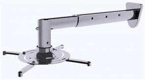 Кронштейн для проектора Cactus CS-VM-PR05BL-AL серебристый (до 10 кг.) настенный и потолочный, поворот и наклон