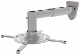 Кронштейн для проектора Cactus CS-VM-PR05B-AL серебристый (до 10 кг.) настенный и потолочный, поворот и наклон