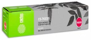 Лазерный картридж Cactus CS-TK8305 (TK-8305K) черный для Kyocera Mita TASKalfa 3050, 3050ci, 3051, 3051ci, 3550, 3550ci, 3551, 3551ci (25'000 стр.)