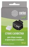 Салфетки Cactus CS-P2003E для сбора тонера 100 шт сухие