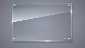 Демонстрационная доска Cactus CS-GBD-65x100-TR маркерная, стеклянная, прозрачная (65x100 см.)