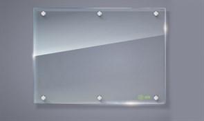 Демонстрационная доска Cactus CS-GBD-90x120-TR маркерная, стеклянная, прозрачная (90x120 см.)