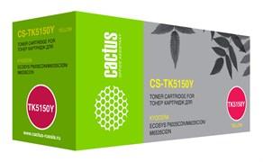 Лазерный картридж Cactus CS-TK5150Y (TK-5150Y) желтый для Kyocera Ecosys M6035CIDN, P6035CDN (10'000 стр.)