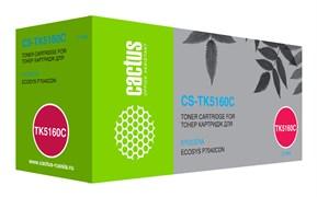 Лазерный картридж Cactus CS-TK5160C (TK-5160C) голубой для Kyocera Ecosys P7040CDN (12'000 стр.)