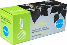 Лазерный картридж Cactus CS-CF322AV (HP 653A) желтый для HP Color LaserJet M680, M680dn, M680f, M680z (16'500 стр.)