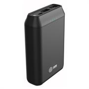 Мобильный аккумулятор Cactus CS-PBFSST-10000 Li-Pol 10000mAh 2A+2.4A черный 2xUSB