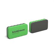 Стиратель для досок магнитный ErichKrause 107x57 мм зеленый