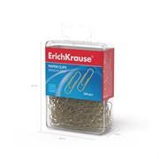 Скрепки металлические омедненные ErichKrause, 28 мм (коробка 200 шт.)