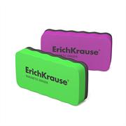 Стиратель для досок магнитный ErichKrause 107x57 мм фиолетовый