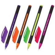 """Ручка шариковая масляная Brauberg """"Extra Glide Soft Color"""", синяя, линия письма 0,35 мм"""
