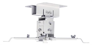 Кронштейн для проектора Cactus CS-VM-PREC01-WT белый потолочный с дистанцией до потолка 120 мм (нагрузка до 20 кг.)