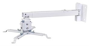 Кронштейн для проектора Cactus CS-VM-PRE01-WT белый настенно-потолочный с дистанцией до потолка/стены 43-65 см (нагрузка до 20 кг.)
