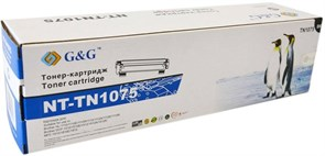 Лазерный картридж G&G NT-TN1075 (TN-1075) черный для Brother HL 1110, 1112A, 1210, DCP 1510, 1512, 1610, MFC 1810, 1910 (1'000 стр.)