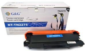Лазерный картридж G&G NT-TN2275 (TN-2275) черный для Brother HL 2240, 2240r, 2250, 2250dn, 2250dnr (2'600 стр.)