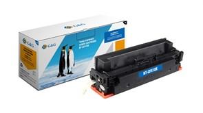 Лазерный картридж G&G NT-CF411X (HP 410X) голубой увеличенной емкости для HP Color LaserJet M452dw, M452dn, M452nw, M477fdw, 477dn, M477nw (5'000 стр.)