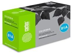 Лазерный картридж Cactus CS-CF281A (HP 81A) черный для HP LaserJet M604dn, M604n, M605dn, M605n, M605x, M606dn, M606x, M630 series, M630dn, M630f, M630h, M630z (10'500 стр.)