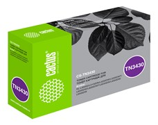 Лазерный картридж Cactus CS-TN3430 (TN-3430) черный для Brother HL L5000, 5100, 5200, 6250, 6300, 6400 (3'000 стр.)