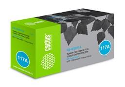 Лазерный картридж Cactus CS-W2071A (HP 117A) голубой для HP Color Laser 150a, 150nw, 178nw MFP, 179fnw MFP (700 стр.)