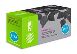 Лазерный картридж Cactus CS-W2073A (HP 117A) пурпурный для HP Color Laser 150a, 150nw, 178nw MFP, 179fnw MFP (700 стр.)