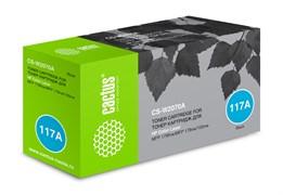 Лазерный картридж Cactus CS-W2070A (HP 117A) черный для HP Color Laser 150a, 150nw, 178nw MFP, 179fnw MFP (700 стр.)