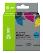 Струйный картридж Cactus CS-C4908 (HP 940XL) пурпурный увеличенной емкости для HP OfficeJet 8000 Pro, 8500, 8500a, 8500a Plus (30 мл)